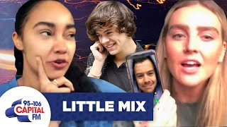 Little Mix Call 'Harry Styles' Asking Him To Feature On 'Breathe' | Interview | Capital