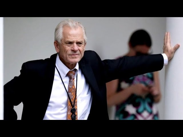 The changing views of Trump's top trade adviser Peter Navarro