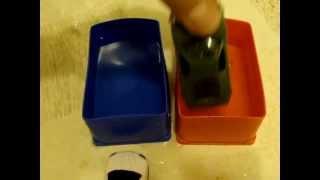 Краска меняет цвет от смены температуры