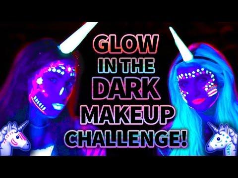 Glow In The Dark Unicorn Makeup Challenge Wicked Wars