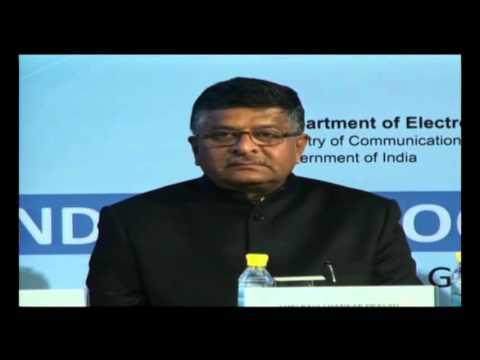 Good Governance Week -  Shri Ravi Shankar Prasad  - Minister of Communication and IT