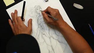 DC Comics' Jim Lee Talks Wonder Woman's Evolution & His Drawing Process