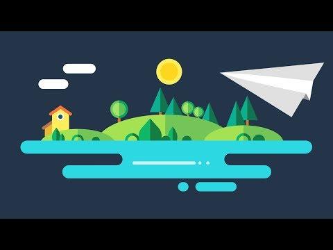 PowerPoint Animation Tutorial Motion Graphic Sunrise
