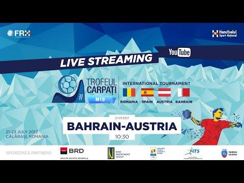 Trofeul Carpati M19 2017 - BAHRAIN v AUSTRIA