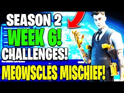 *GUIDE* To Chapter 2 Season 2 Week 6 CHALLENGES - Meowscles' Mischief Challenges!!
