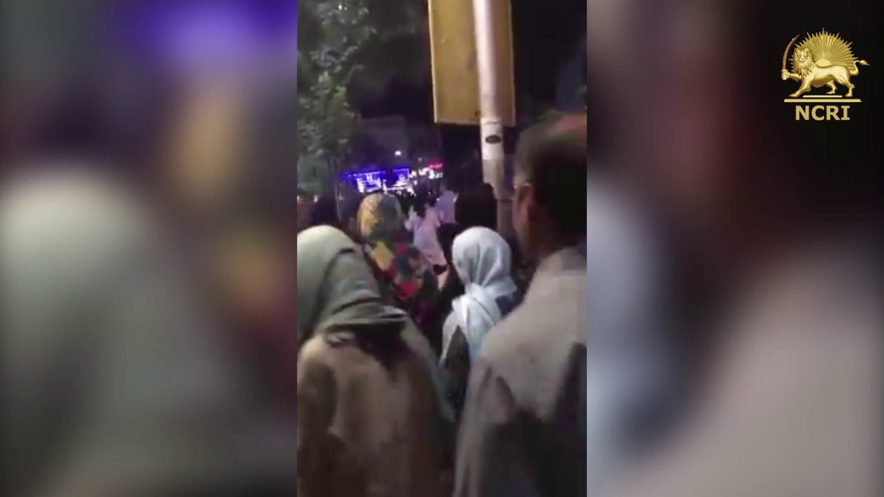 KARAJ, #Iran. August 3, 2018. 4th night of protests against Iran's regime