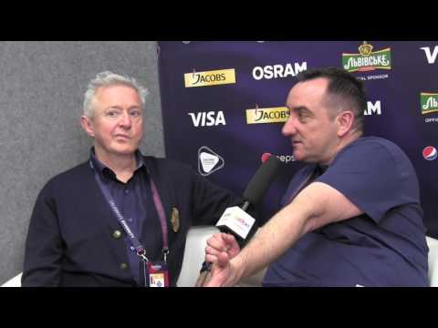 ESCKAZ in Kyiv: Interview with Louis Walsh (UK X-Factor Judge) - Live in Kyiv