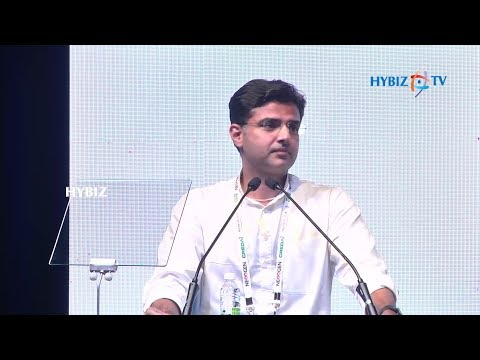 Sachin Pilot @ CREDAI Youth Wing Convention, YOUTHCON 2018 in Hyderabad