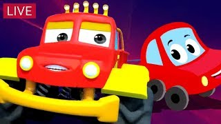 Little Red Car | Car Stories And Videos For Kids