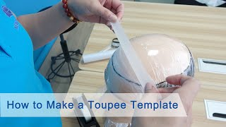 How to Make a Toupee Template | New Times Hair