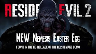 NEW Resident Evil 3 Easter Egg | Nemesis Hint in the Resident Evil 2 Remake Demo!