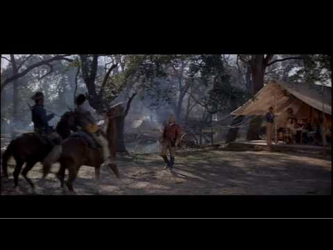 The Alamo (1960) - Smitty Meets Sam Houston