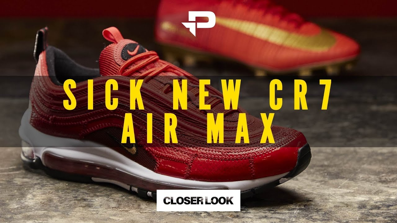 aff8505715 SIGNATURE CR7 SNEAKERS | NIKE AIR MAX 97 CR7 | CLOSER LOOK - YouTube
