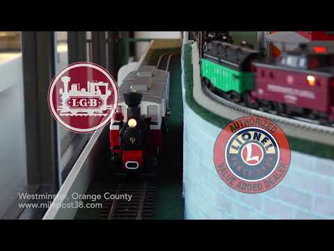Lionel Model Trains – LARGEST Store in Orange County – Milepost 38