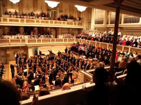 Berlin 2010 : CARMINA BURANA 1/5 Mozartini Sinfonie Orchester Schoneberg - MUNICIPAL CHOIR OF CORFU