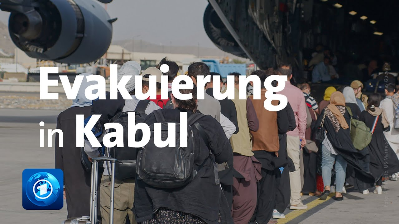Download Evakuierung in Afghanistan: Tausende Menschen ausgeflogen