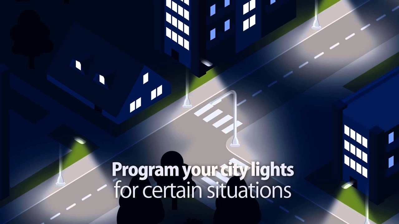 Smart Street Lighting Control System   YouTube