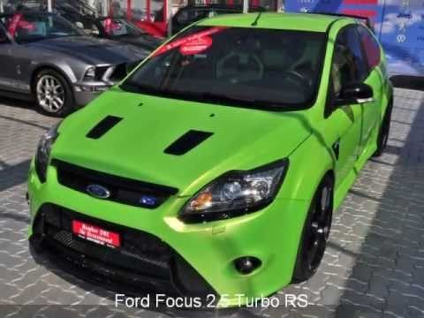 ford focus 2 5 turbo rs 25269 auto kunz ag occasion youtube. Black Bedroom Furniture Sets. Home Design Ideas