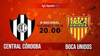 Central Cordoba vs Boca Unidos full match