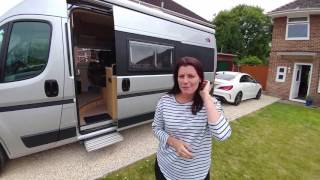Our new Fiat Ducato Campervan