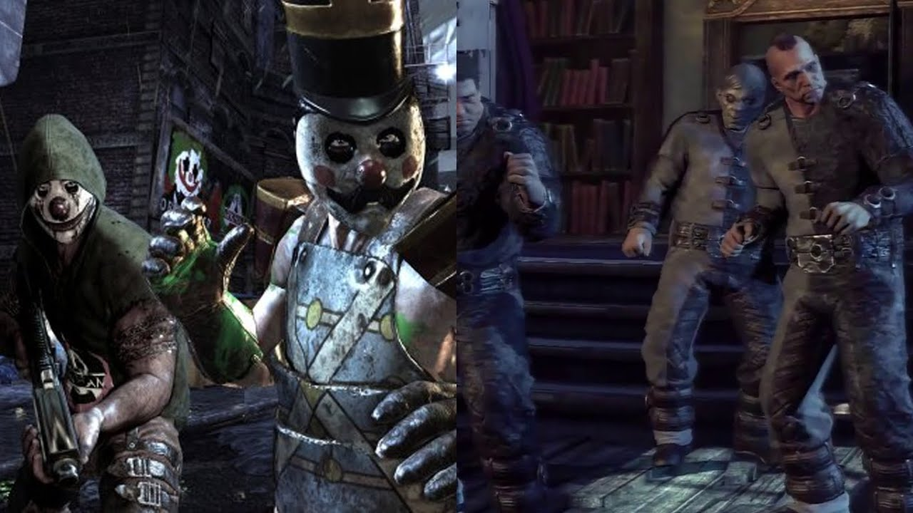 Batman: Arkham Origins: Arkham City's Two-Face and Joker ...