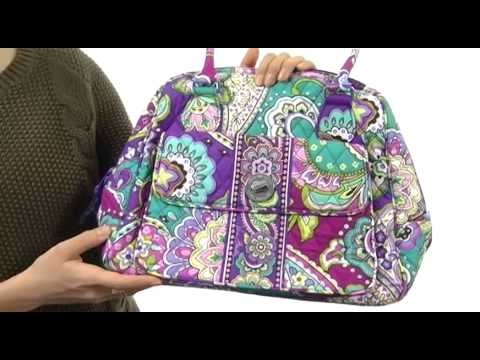 ef78dbf01 Vera Bradley Turn Lock Satchel SKU:#8251362 - YouTube