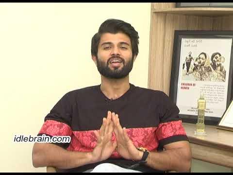 Vijay Devarakonda birthday interview - idlebrain.com