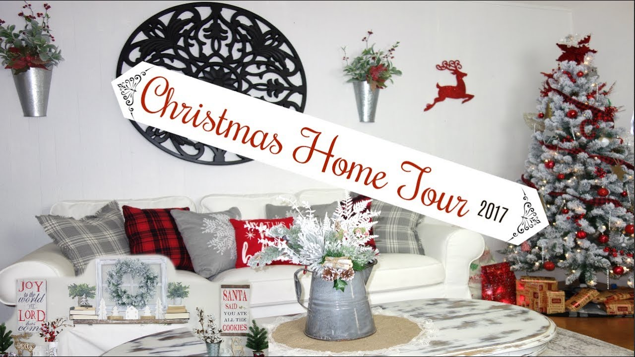 christmas home tour 2017 farmhouse style diy decor momma from scratch