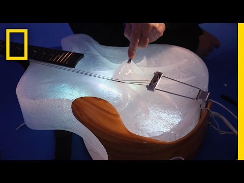 Morgen - Ice Instruments Create Celestial Sound
