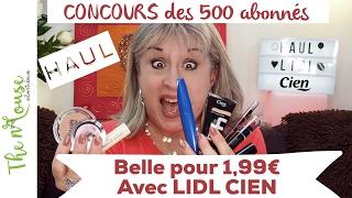 Belle pour 1,99€ avec LIDL CIEN! [Concours terminé] ⭐️Beauté +50 ans⭐️