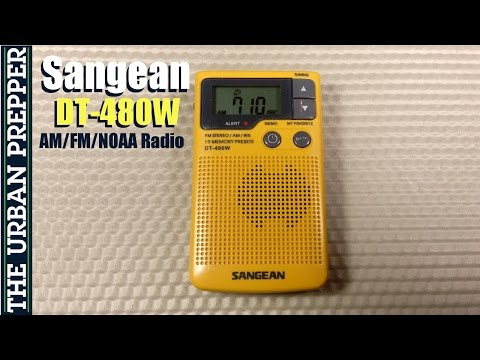 Sangean DT-400W Pocket Radio Review by TheUrbanPrepper