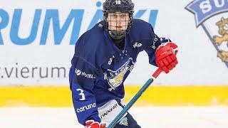 U16: Kasper Kulonummi iski Suomen ainokaisen Ruotsi-ottelussa