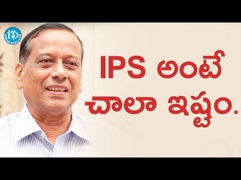 IPS అంటే తనకి ఎంత ఇష్టమో చెప్పిన Retd DGP AK Mohanty    Crime Diaries With Muralidhar