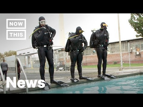 Prison Inmates Learn to Scuba Dive in Rehabilitation Program | NowThis