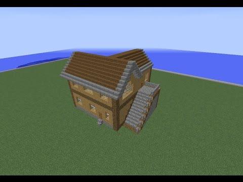 Tuto Minecraft Maison En Bois 4 Youtube