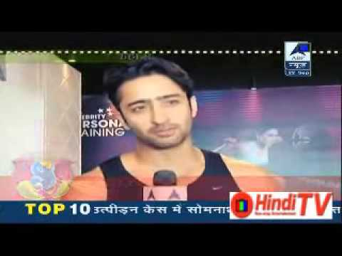 Shaheer Sheikh gym 22 september 2015: