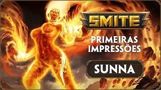 SMITE :: Primeiras impressões :: Sunna / Sol
