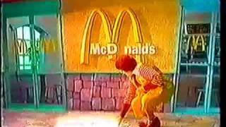 Macdonalds 1992 commercial NZ