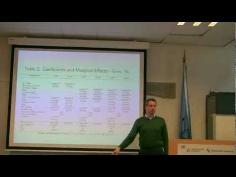 Conflict Resolution, Public Goods and Patent Thickets: Georg von Graevenitz