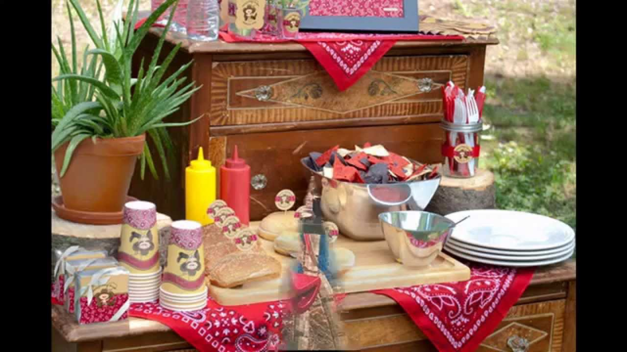 & Elegant Western party decoration ideas - YouTube