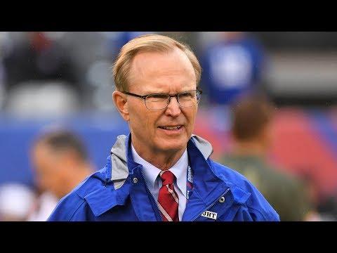 Giants Owner John Mara Addresses Tanking Rumors   Stadium