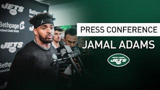 Jamal Adams Postgame Press Conference   New York Jets at Washington Redskins   NFL