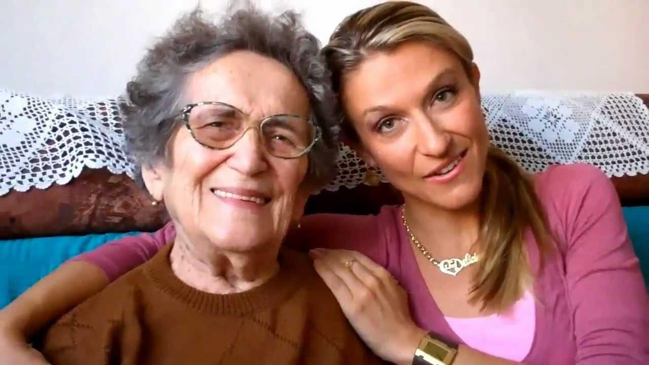 Elsa granny and spongebob grandpa