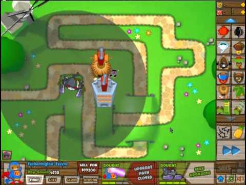 Bloons tower defense 5 monkey god vs robot monkey youtube