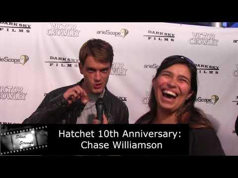 Hatchet 10th Anniversary Celebration - Chase Williamson