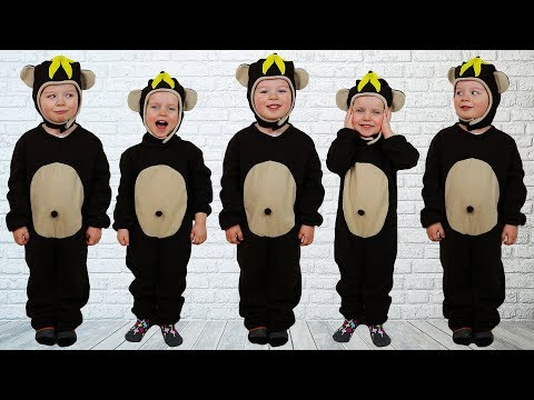 Five Little Monkeys Jumping On The Bed - Baby Nursery Rhymes Song