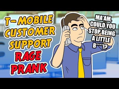 T-Mobile Customer Support Rage Prank - Ownage Pranks