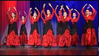Испанский танец. Липецк.(Видео и фотосъемка школьных выпускных, концертов и других торжеств в Липецке. 8-920-245-7179 Студия