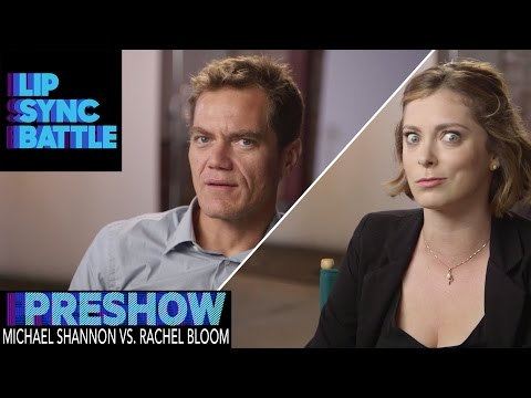 Michael Shannon vs. Rachel Bloom (Preshow) | Lip Sync Battle