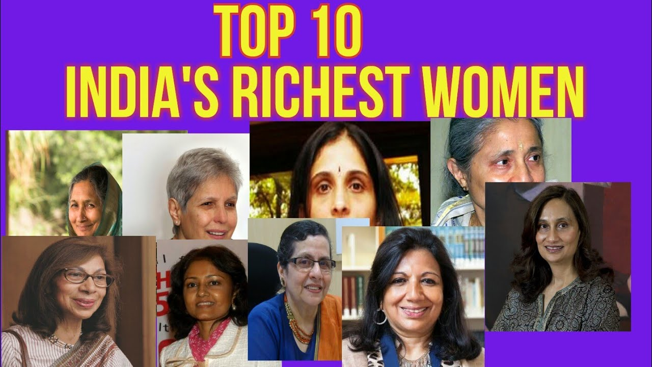 India in The woman richest